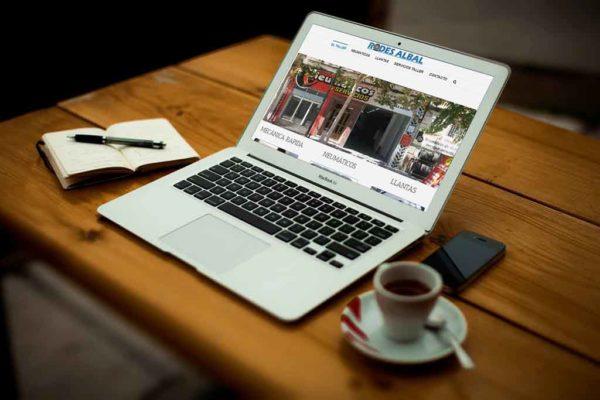 Página web de taller mecánico