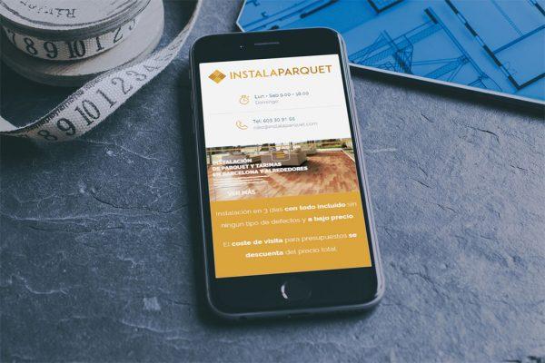 Renovación página web InstalaParquet