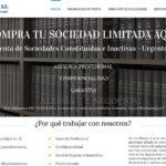 Web asesoría Sociedad Limitada Hoy